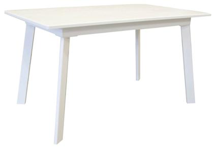 Стол деревянный кухонный Flash white 1200(1600)х750
