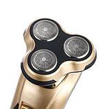 Электробритва триммер для бороды и носа Domotec бритва 3 в 1 TyT, фото 7