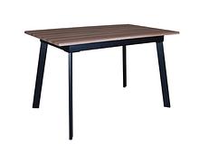 Стол деревянный кухонный Flash beige/black 1200(1600)х750