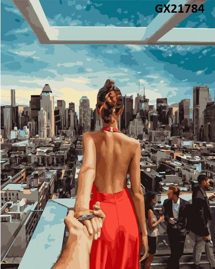 Картина по номерам «Слідуй за мною. Манхеттен» GX21784