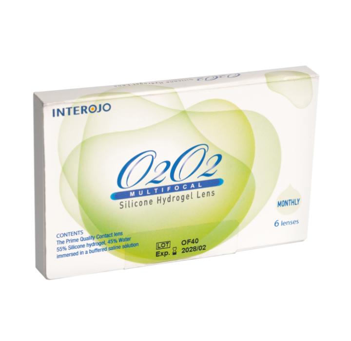 Контактные линзы O2O2 Multi-Focal 2линзы (1 месяц)