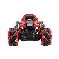Трюковая машинка вездеход Lesko CX-60 Red с дистанционным управлением детский внедорожник, фото 3
