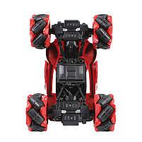 Трюковая машинка вездеход Lesko CX-60 Red с дистанционным управлением детский внедорожник, фото 4