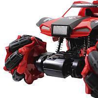 Трюковая машинка вездеход Lesko CX-60 Red с дистанционным управлением детский внедорожник, фото 5