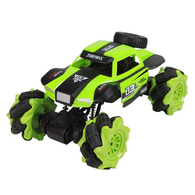 Трюковая машинка вездеход Lesko CX-60 Green с дистанционным управлением детский внедорожник