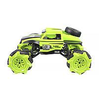 Трюковая машинка вездеход Lesko CX-60 Green с дистанционным управлением детский внедорожник, фото 2