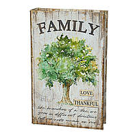 "Книга-сейф на ключе ""Семейное дерево"" 26*17*5 см (0001-022)"