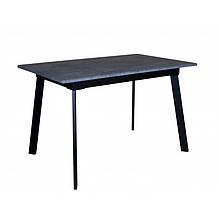 Стол деревянный кухонный Flash black/grey 1200(1600)х750