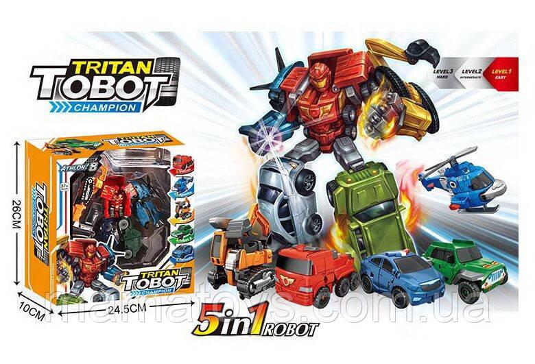 Трансформер HD 45 Тобот Тритан робот