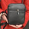 Мужская черная сумка через плечо Puma Ferrari, чоловіча сумка Пума Ферари мессенджер, барсетка, фото 3