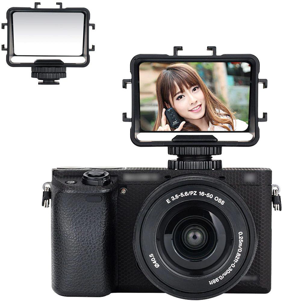 Дзеркало - монітор, екран JJC FSM-V1 для фото селфи зйомки, ведення блогів для камер і фотоапаратів