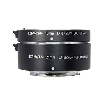 Макрокольца автофокусные для фотокамер Panasonic и Olympus (байонет Micro 4/3) Mcoplus EXT-M4/3-M (10+21mm)