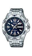 Мужские часы Касио CASIO MTD-1082D-2A Касио противоударные японские кварцевые