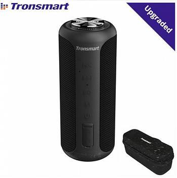 Колонка Tronsmart element T6 Plus upgrade edition 40W Black+Сумка и чехол USB Type-C / 6600mAh / AUX / MicroSD
