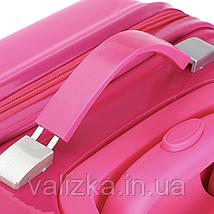 Чемодан пластиковый для девочки Холодное сердце, фото 3