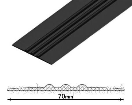ПВХ привальный брус 70мм (от 2 м.п.)