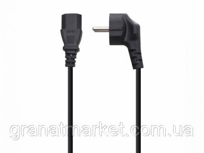 Сетевой шнур (C13-CEE 7/7) 1.5m 30.75mm 2 PC-186-VDE Цвет Чёрный