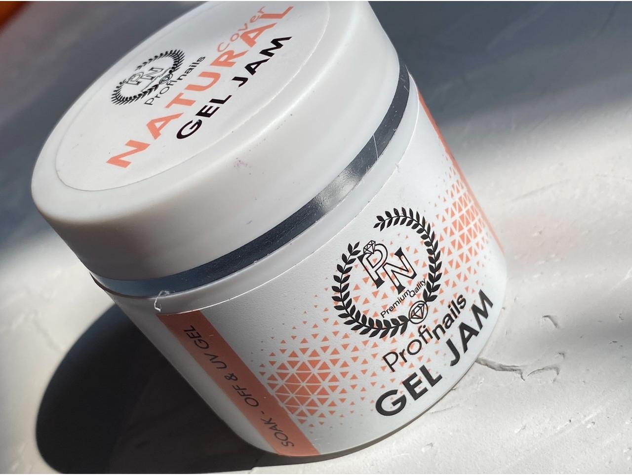 Gel jam Profi nails natural (Гель желе для френча розовый)30 мл
