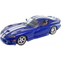 Конструктор Bburago Dodge Viper Gts Coupe (1996) (синий, 1:24) (18-25023)