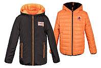 Модная демисезонная куртка для подростка на рост 110-164, фото 1