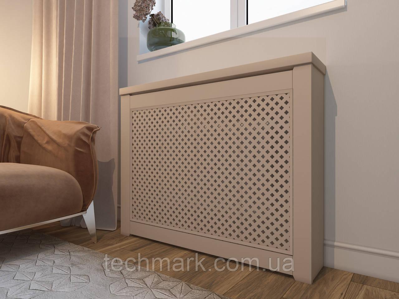 Декоративная решетка экран (короб) на батарею отопления R113-К