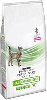 Сухой корм Pro Plan Veterinary Diets HA Hypoallergenic для кошек с пищ аллергиями, 1,3 кг