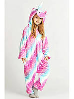 Детская пижама кигуруми  Единорог Млечный Путь 110-140 рост (полномерка)