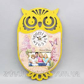 Годинник Сова з фоторамкою SKL11-209616