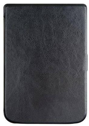 Обложка чехол  для PocketBook Touch Lux 4 627 автосон черный, фото 2