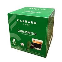 """Кофе в капсулах Carraro """"Crema Espresso""""  16 шт."""
