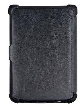 Обкладинка чохол для PocketBook Touch Lux 5 628 автосон чорний, фото 2