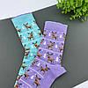 """Носки детские из высококачественного хлопка с оригинальным принтом """"Олени"""", фото 2"""