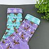 """Носки детские из высококачественного хлопка с оригинальным принтом """"Олени"""", фото 3"""