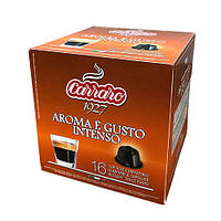 """Кофе в капсулах Carraro """"Aroma E Gusto Intenso""""  16 шт."""