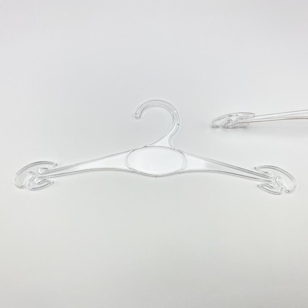 Плечики для нижнего белья 10 шт. прозрачного цвета W-N30, длина 300 мм
