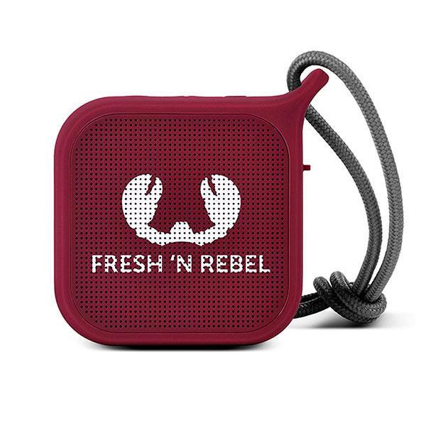 Колонка беспроводная Fresh N Rebel Rockbox Pebble Small Bluetooth Speaker Ruby