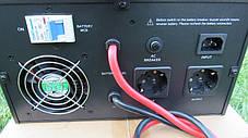 Инвертор ИБП Q-Power QPSM-600 12В 600Вт ЗУ-30А горизонтальный, фото 3