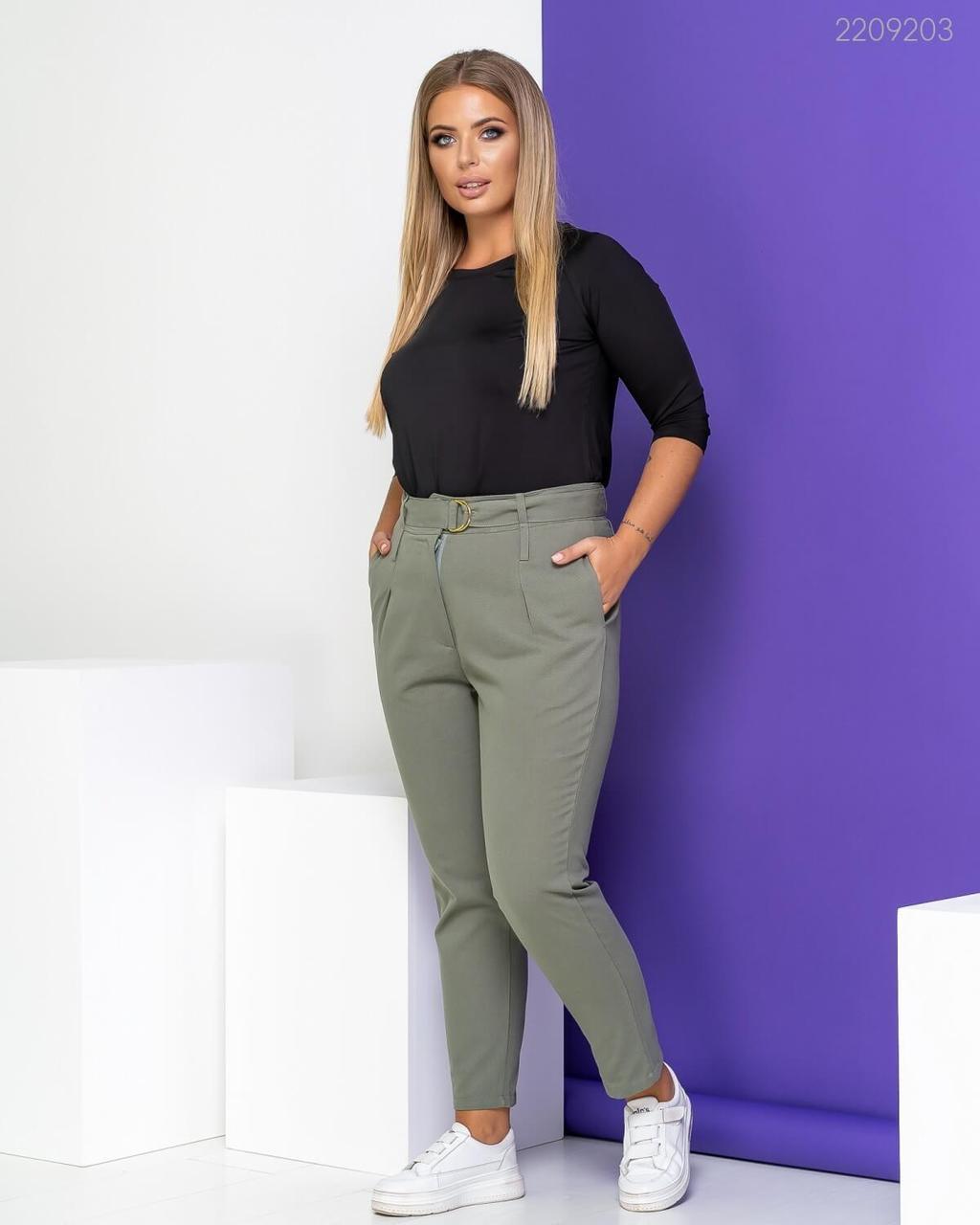 Р. 48-56 Модные женские джинсы большого размера