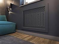 Декоративная решетка экран (фасад) на батарею отопления R104-F