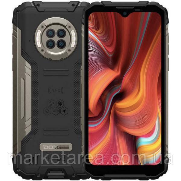Смартфон защищенный с большим дисплеем и мощной хорошей батареей на 2 симки Doogee S96 Pro black 8/128 гб NFC