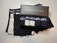 Трусы мужские боксеры (5шт) Tommy Hilfiger в фирменной коробке. Трусы транки боксеры шорты мужские боксеры