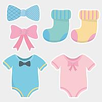 Фотобутафория на Baby Shower 6 элементов