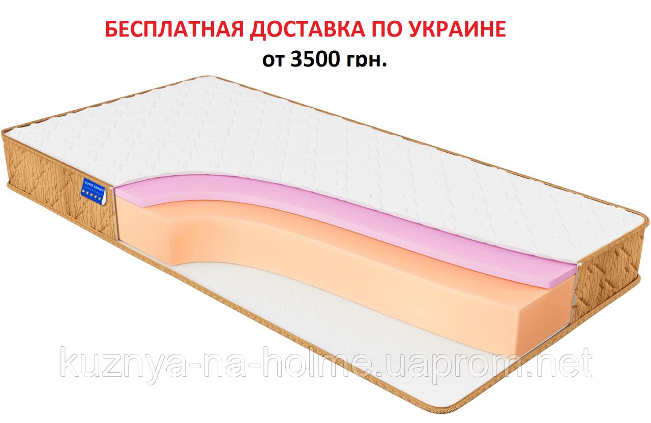 МАТРАС RELAX SOFT, беспружинный моноблок Orto Foam, 20 см, 120 кг на 1 спальное место