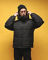 Зимняя куртка мужская черная бренд ТУР модель Брэт размер S, M, L, XL