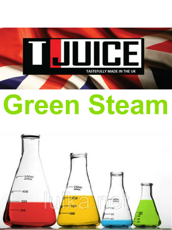 Набор для замеса жидкости T-Juice Green Steam 100 мл.
