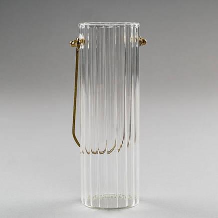 """Стеклянная ваза """"Легкость"""" 20 см, фото 2"""