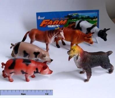 Тварини Ферма домашні тварини 6 шт у пакеті  H636