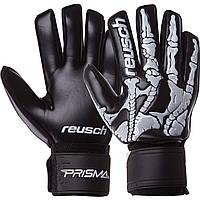 Перчатки вратарские REUSCH Goalkepeer Gloves 935 размер 9 Black-White, фото 1