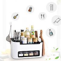 Кухонный органайзер для кухонных принадлежностей и специй Стеллаж на кухню Clean Kitchen Necessities-Bos