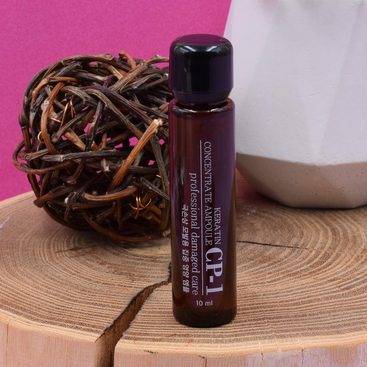 Концентрированная кератиновая сыворотка Esthetic House для волос CP-1 Keratin Concentrate Ampoule